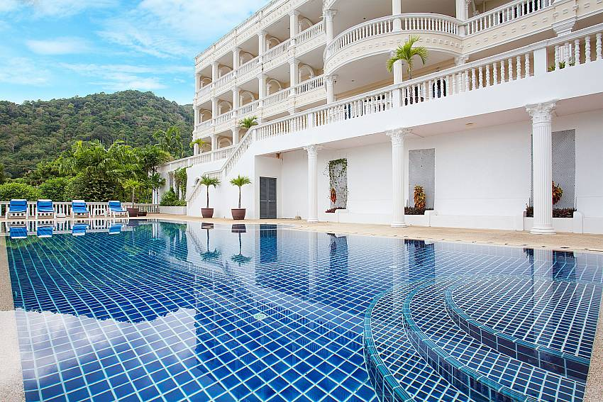 Communal pool at Manuae Condo 202 in Karon Phuket