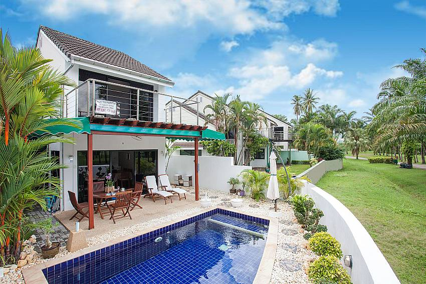 2 bed Villa Dooriya next to Loch Palm Golf course in Central Phuket