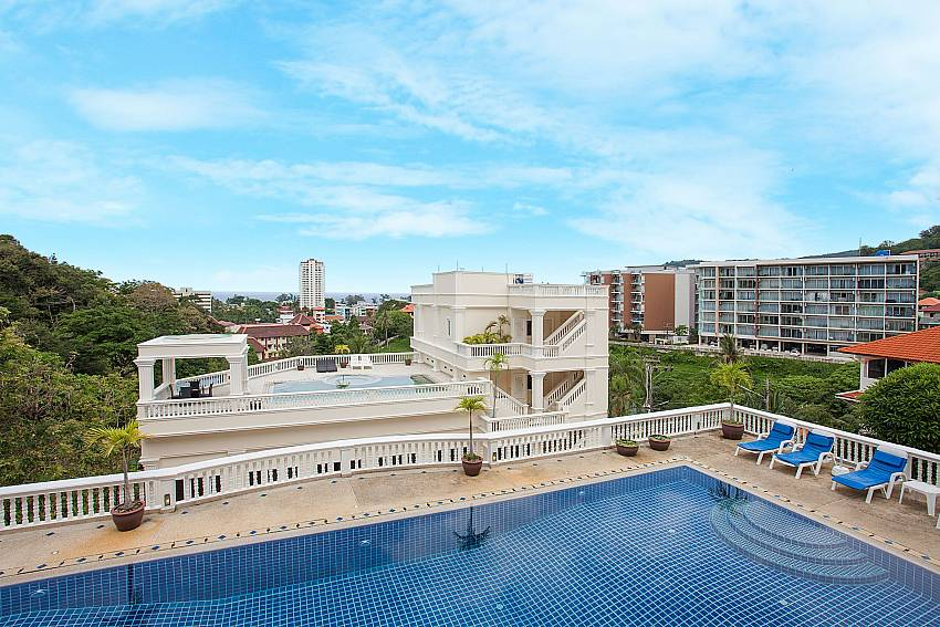 Superb view from the private balcony of Manuae Condo 102 Phuket