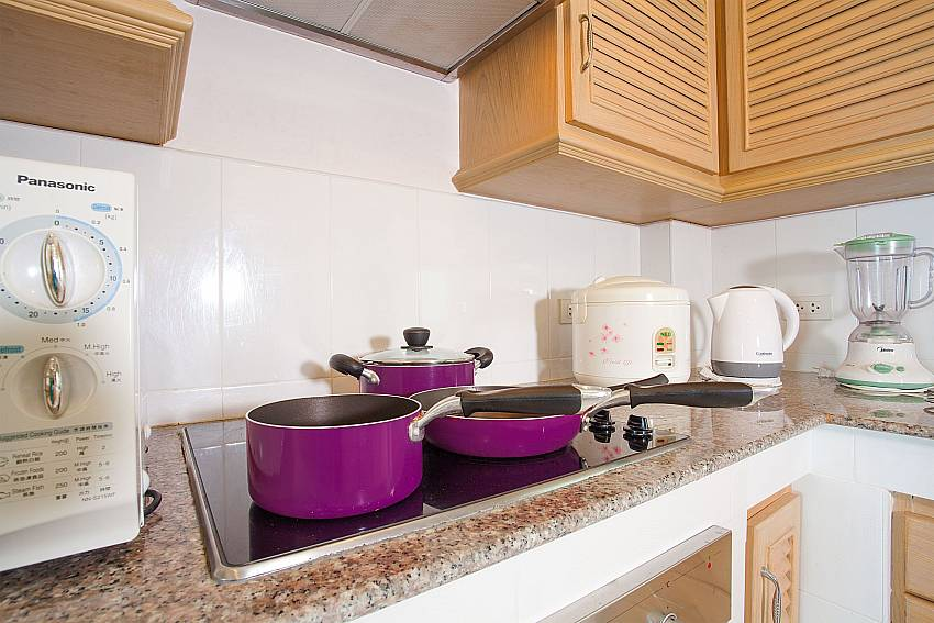 European style kitchen at Manuae Condo 102 in Phuket