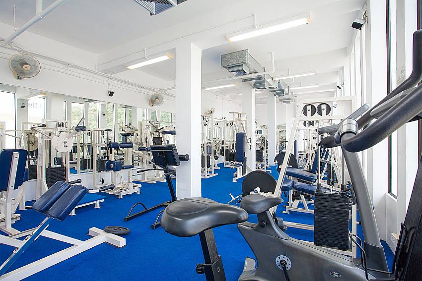 Gym for guests of Manuae Condo 201 in West-Phuket
