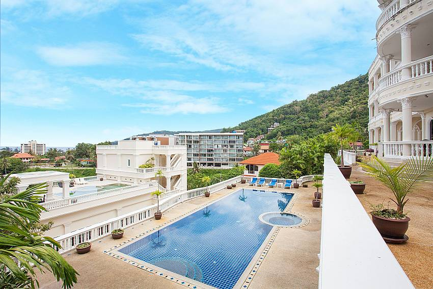 Communal pool of Manuae Condo 201 in Karon West-Phuket