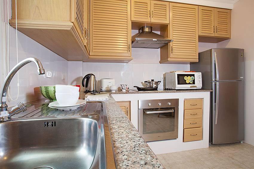 European style kitchen at Manuae Condo 101 Westphuket