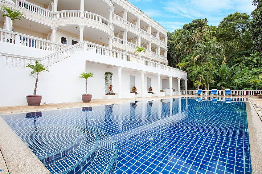 Apartment house with Manuae Condo 101 in Karon Phuket