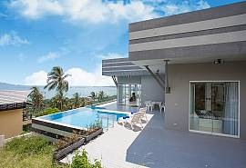 Villa Chetas | Contemporary 3 Bed Pool House in the North of Koh Samui