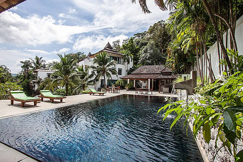 2. Communal pool with sun deck at Nirano Villa 26 Phuket