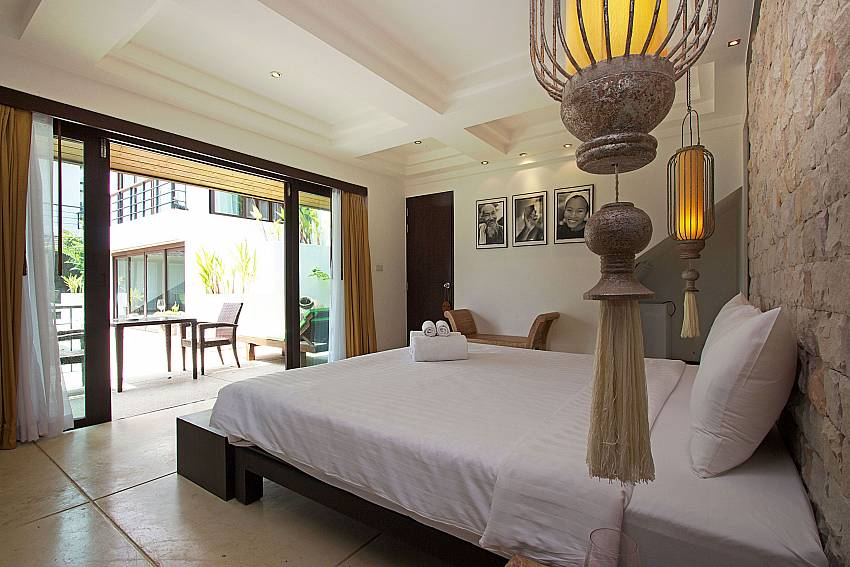 1. bedroom on the ground floor at Nirano Villa 26 Phuket