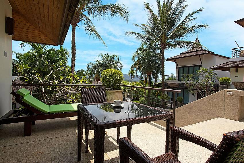 Great view from the elevated terrace at Nirano Villa 26 Phuket