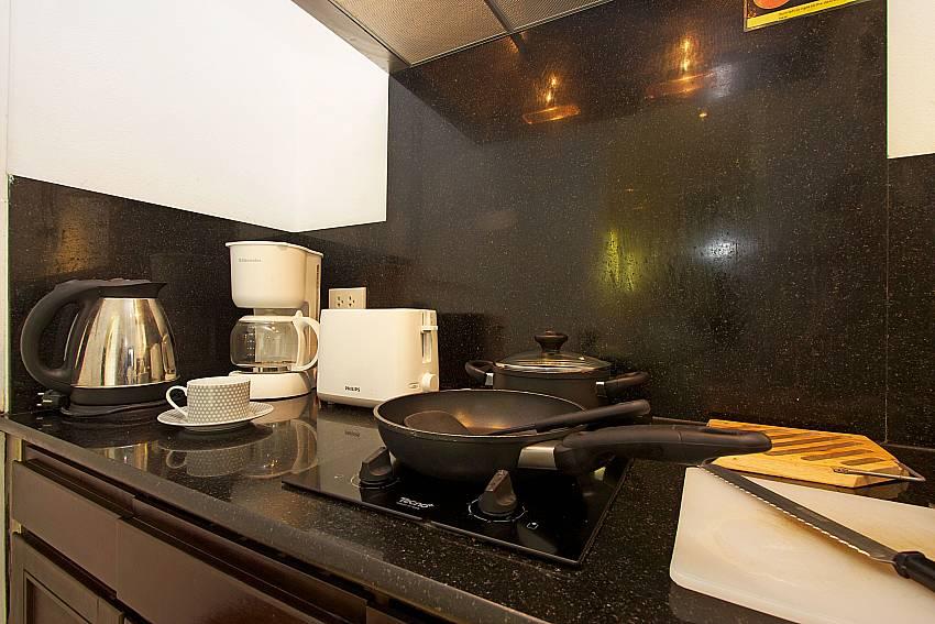 Western style kitchen at Nirano Villa 26 in Central Phuket