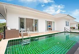 Villa Inigo No.2 | Просторный дом с 3 спальнями и бассейном в Choeng Mon на острове Самуи