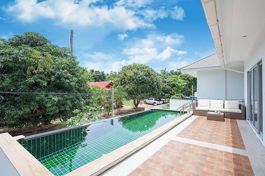 Private pool with view at Villa Inigo No.2 Choeng Mon Koh Samui