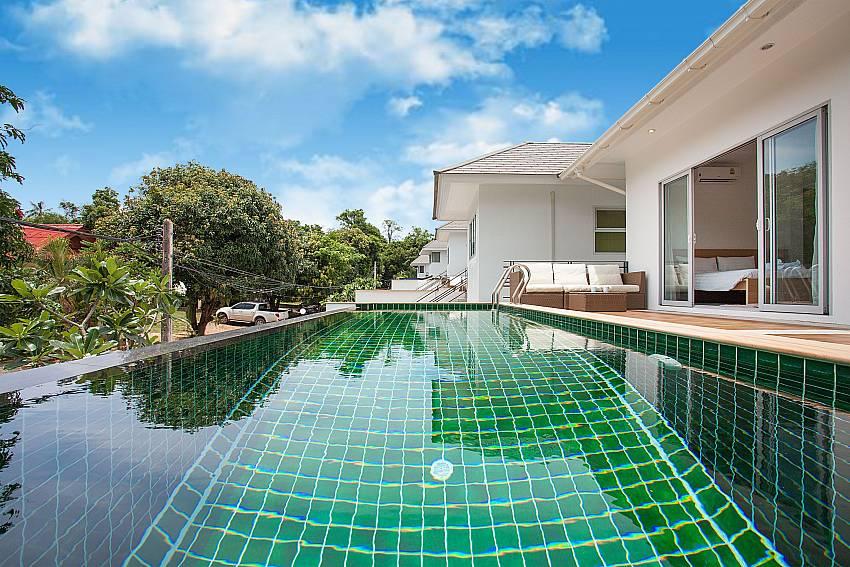 Villa Inigo No.2 with private pool in Choengmon Koh Samui
