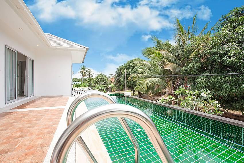 Private Pool with view at Villa Inigo No.2 in Choengmon Koh Samui