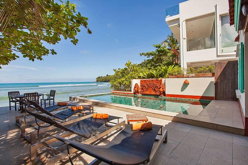 Villa Balie - 3 Bed Beachfront Pool Home Phuket