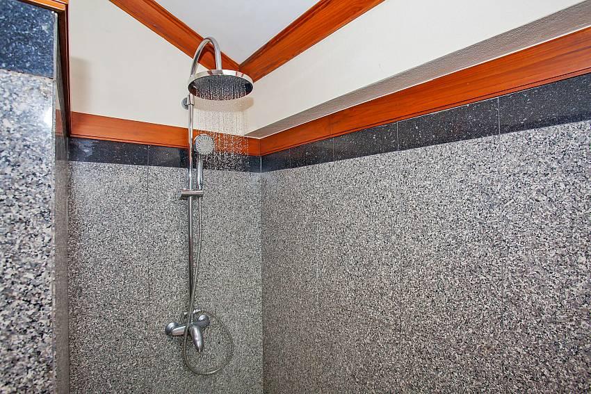 shower in 2. bathroom at Villa Balie Phuket