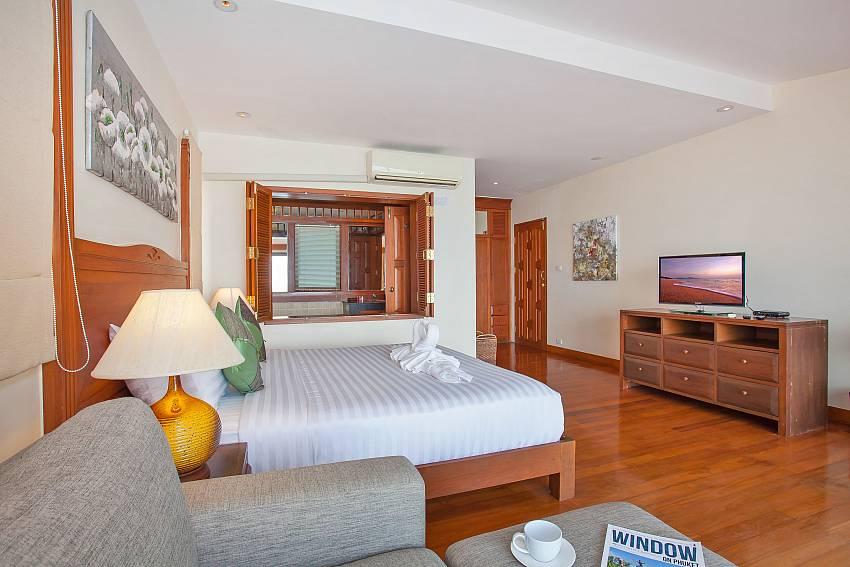 Villa Balie 1. bedroom with TV in Phuket