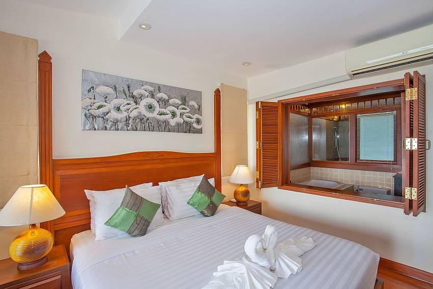 1. bedroom of Villa Balie with ensuite bathroom Phuket