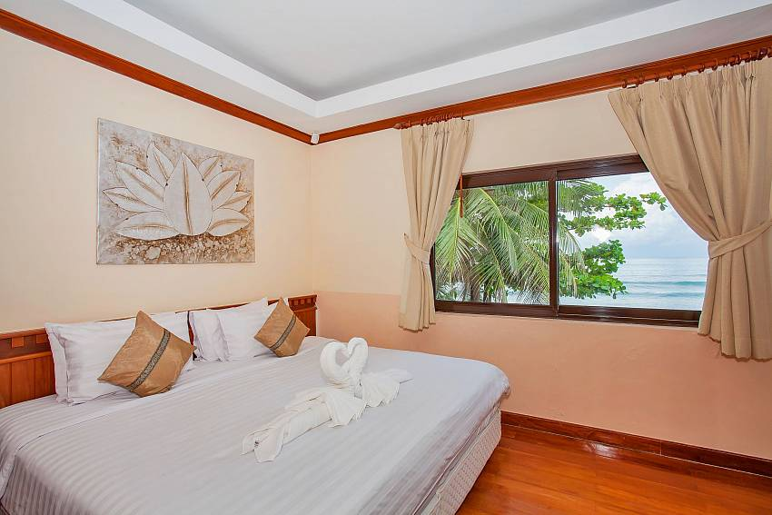 Villa Balie 2. double bedroom with sea view Phuket