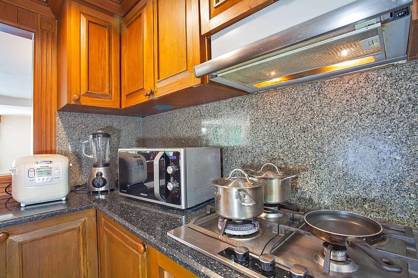 European style kitchen at Villa Balie Kalim beach Phuket