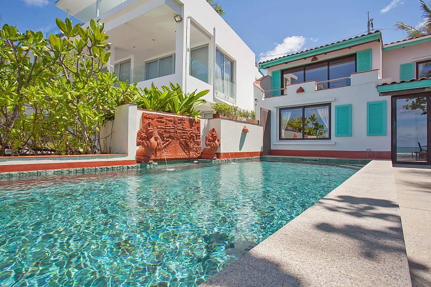 Villa Balie with pool on Kalim beach west Phuket
