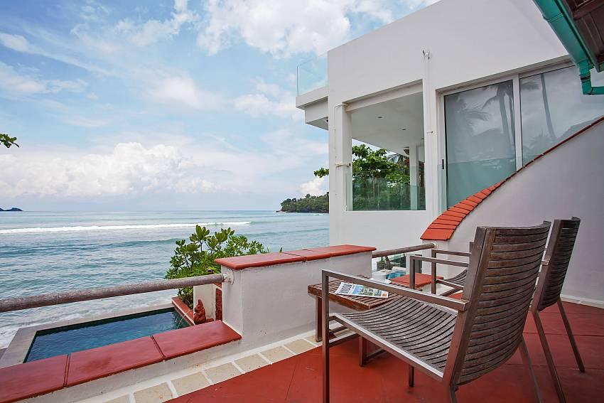 Villa Balie with balcony from master bedroom Phuket