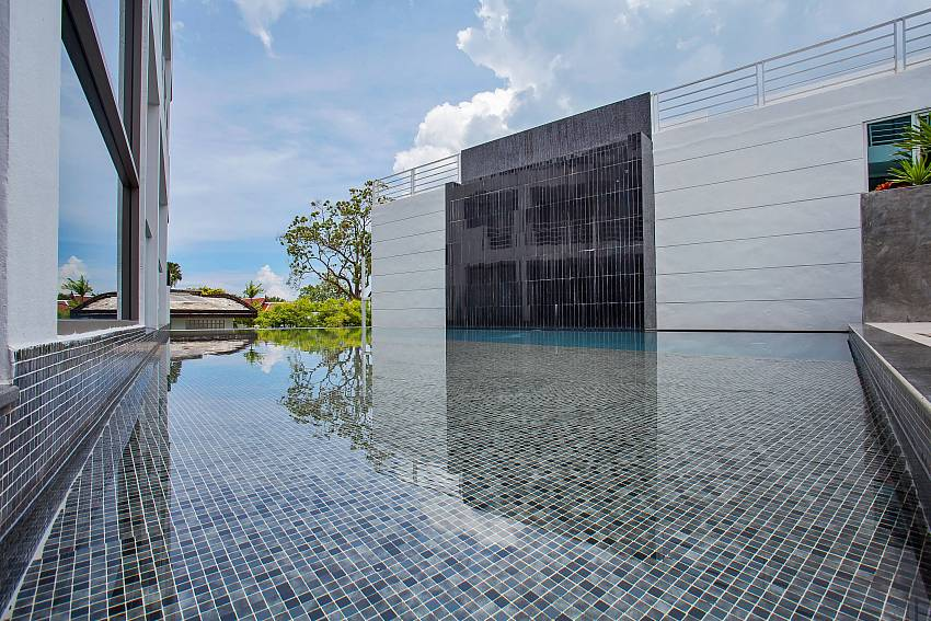 Big communal pool at Sadhay A2 Condo Patong Phuket