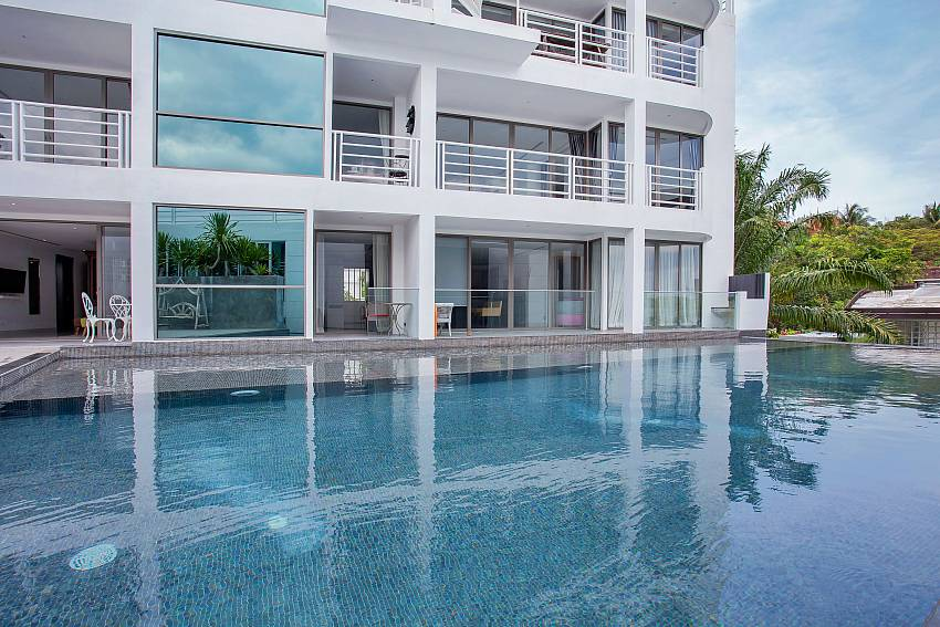 Direct pool access from 1 bed Sadhay A2 Condo Patong Phuket