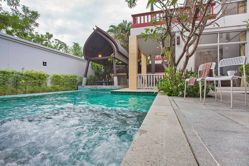 Rustic Gold Villa with private pool at south pattaya