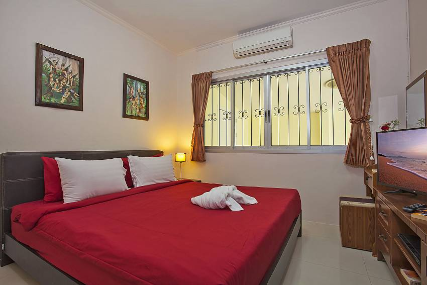 3. kingsize bedroom in Baan Kinara Jomtien South Pattaya