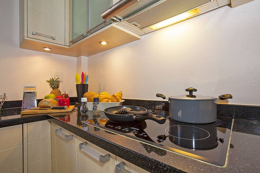 Fully equipped kitchen in Baan Kinara South Pattaya