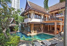 Ruean Sawan | 4 Bed Asian Villa at Na Jomtien, South Pattaya