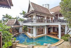 Ruean Maii   Exotic 4 Bed Pool Rental at South of Pattaya