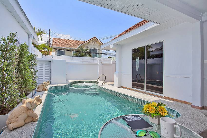 Refreshing private pool at Vogue Villa in Central Pattaya
