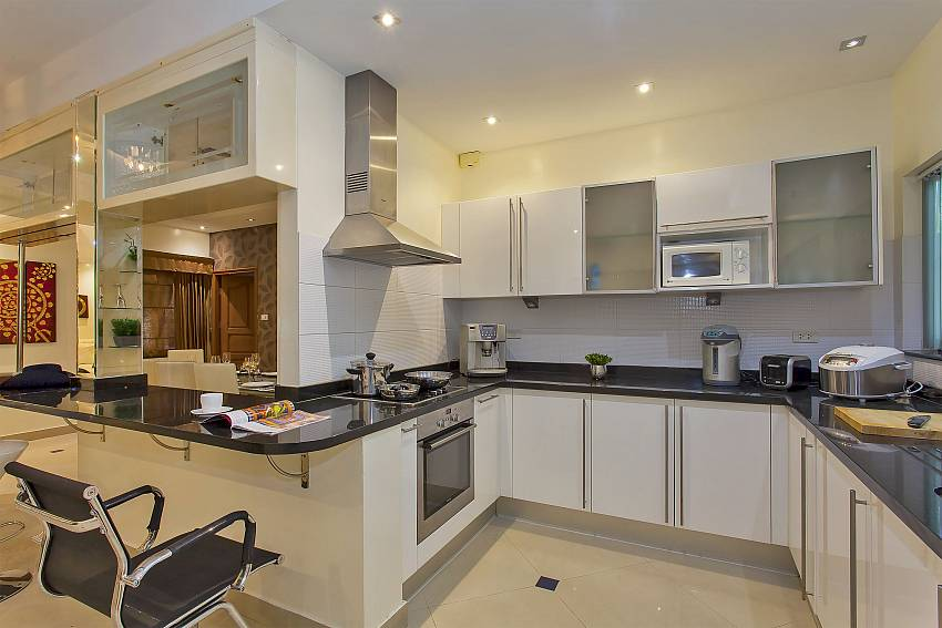 in the Pattaya Presidential Villa awaits you a fully equipped kitchen
