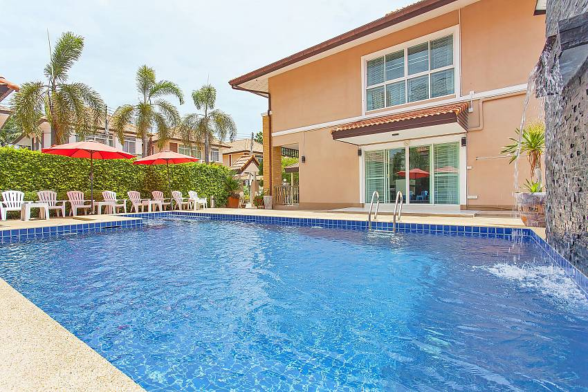 Enjoy a refreshing dip at the private pool of Moonlight Villa in South Pattaya