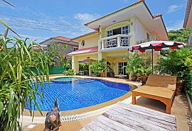 Villa Amiya | 4 Bedroom Pool Villa in Great Pattaya Location