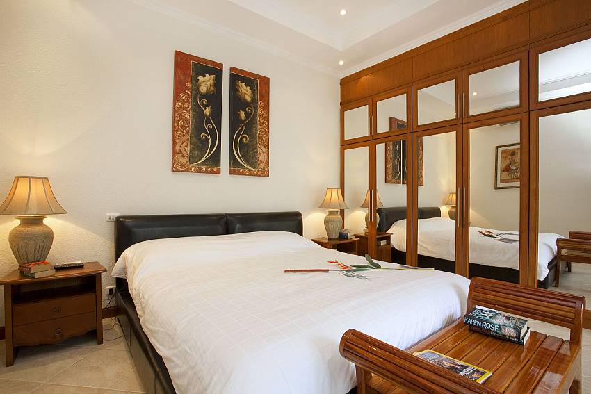 First bedroom Of Baan Tawan One