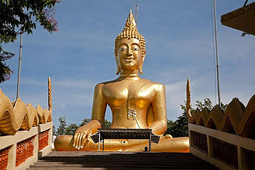 Big Buddha near Baan Tawan One in Pratumnak Pattaya