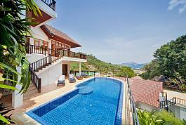 Luxury 5Br Villa With Stunning Ocean Views Near Patong, Phuket