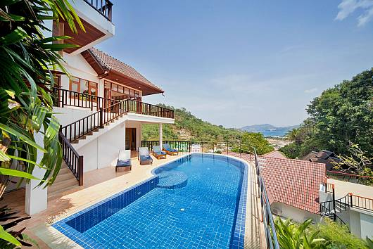 Rent Phuket Villas: Patong Hill Estate 5, 5 Bedrooms. 27179 baht per night