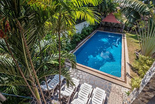 Rent Pattaya Villa: Baan Suan Far-Sai, 5 Bedrooms. 9890 baht per night