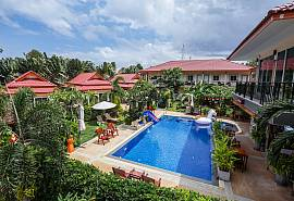 Siri Garden Resort | Exotic 22 Rooms Resort near the sea in Bangsaray