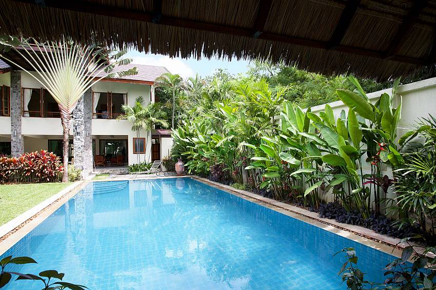 Gorgeous private pool at Baan Suan Far-Sai in Pattaya