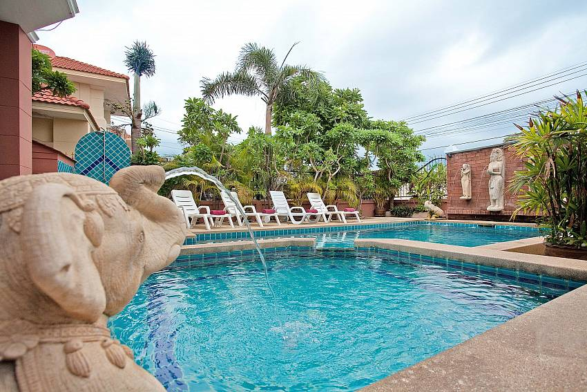 Childrens Pool-Baan Duai Chai_5 bedroom villa_Jomtien_Pattaya