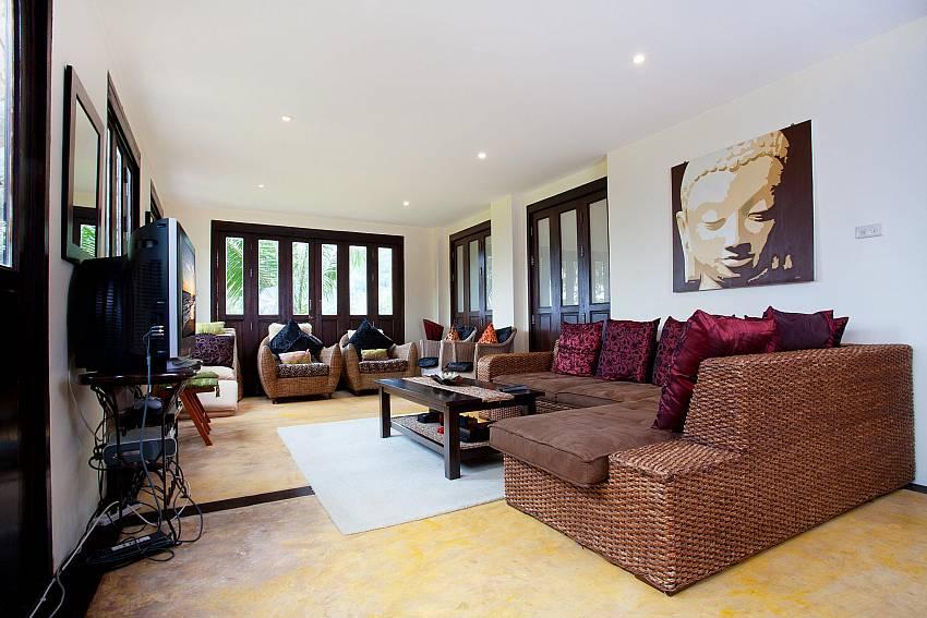 Main Living Room Of Villa Samoot Sawan
