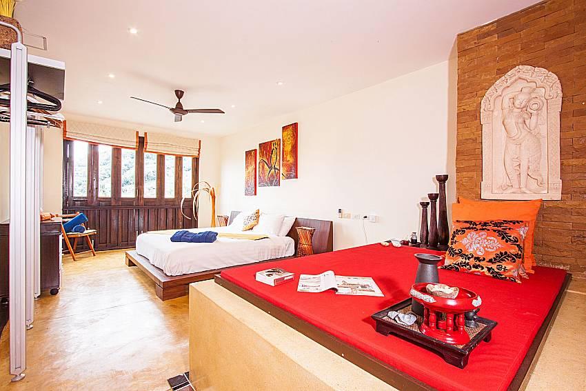 Master main bedroom Of Villa Samoot Sawan