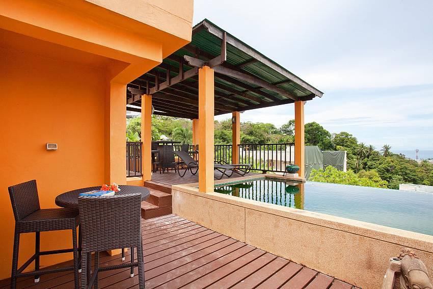 Sun Deck Of Villa Samoot Sawan