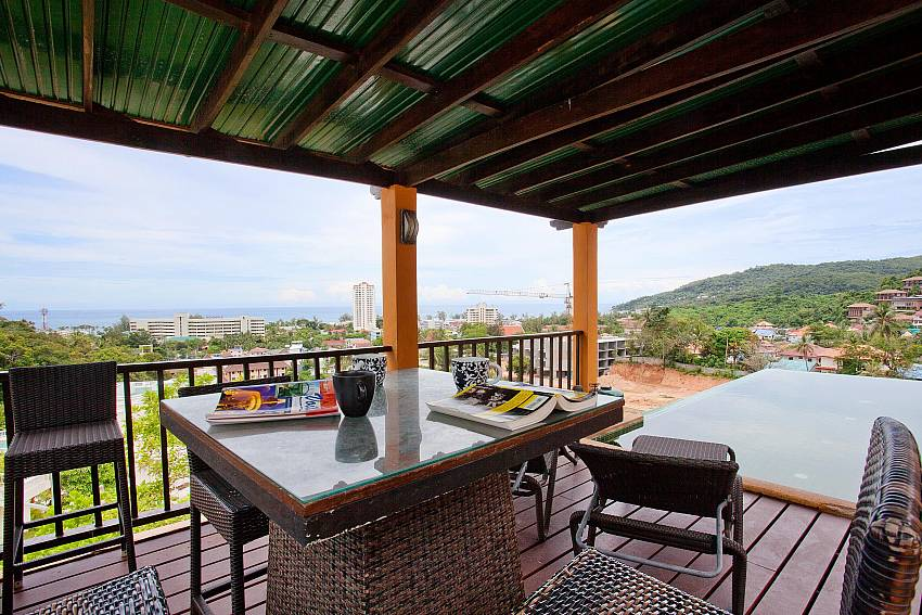 Al Fresco Dining Area Of Villa Samoot Sawan