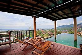 3 Bedroom Hillside Holiday Home With Infinity Pool Overlooking Karon Beach, Phuket