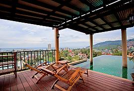 Baan Pa Nom | 3 Bed Pool Holiday Home Overlooking Karon Beach Phuket